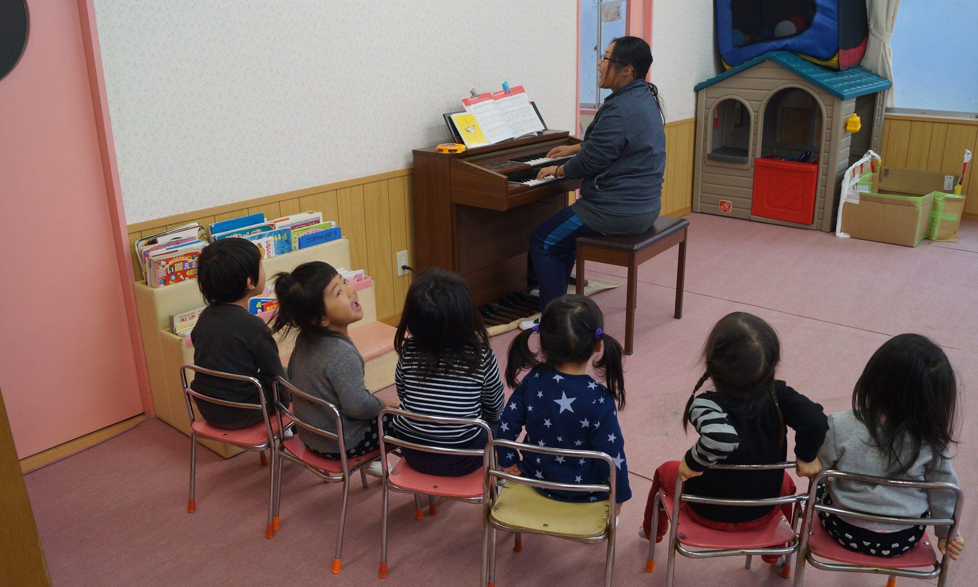 2歳児クラス(りす組)